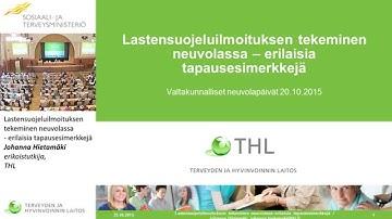 Lastensuojeluilmoitus Lahti