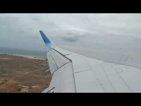 Thomson 757-200 take-off from Boa Vista Rabil airport, G-OOBD