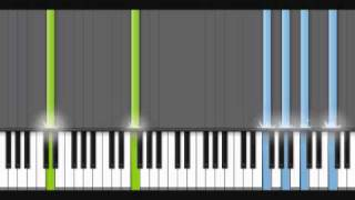 How to play The Lonely Man on piano - 30% speed