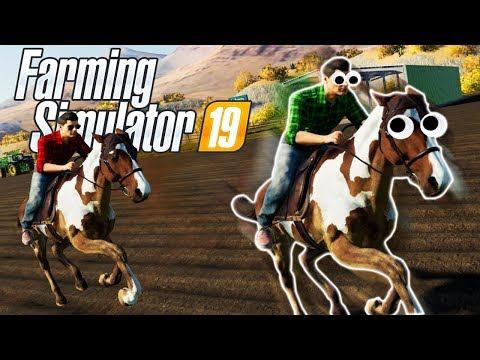 Starting A HORSE FARM In Farming Sim 19 Mods! (Farming Simulator 19 Modded Multiplayer Gameplay)