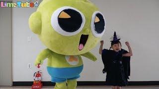 [할로윈특집] 신비아파트고스트볼의 비밀 무서움 주의! LimeTube & Toy 라임튜브