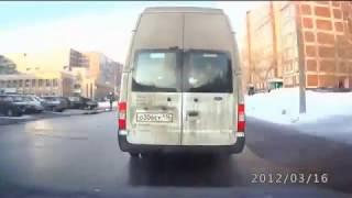Приколы российских дорог с видеорегистратора