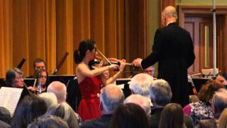 Aldis Elfarsdottir - Tchaikovsky Violin Concerto in D Major, Op. 35 (second and third movements)