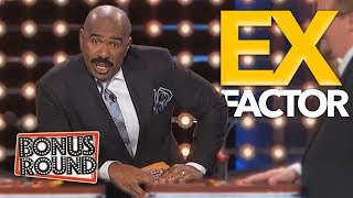 YOUR EX!! Steve Harvey Asks IF YOUR EX BOYFRIEND / GIRLFRIEND / WIFE On Family Feud USA