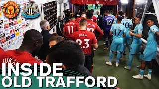 Inside Old Trafford | Behind the Scenes | Tunnel Cam | Manchester United 3-2 Newcastle United |