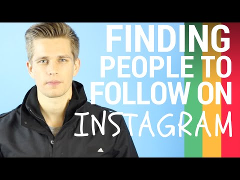 Finding People to follow on Instagram To Grow your Following