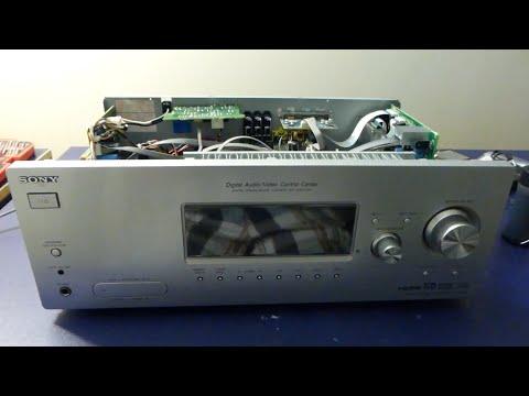 Repair of a Sony STR-K900 Receiver: Part 1