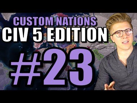 EU4 Custom Nations: [CIV 5 Edition] AI Only - The Cossacks Gameplay - Part 23 |