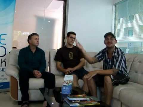 UniTEFL - ESL Alumni from Chiang Mai, Meet Alfie, Josh, and Adam (Irish, English, and American)!