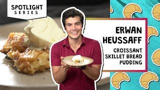 Croissant Skillet Bread Pudding | Erwan Heussaff