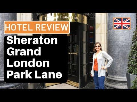 Hotel Review: Marriott's Sheraton Grand London Park Lane Hotel: Park View Suite