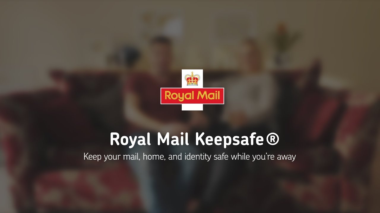 Royal Mail Keepsafe – let us look after your mail while you