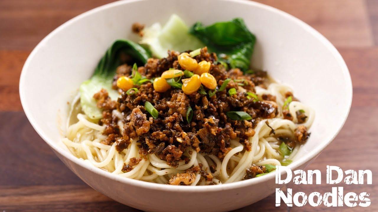 Dan Dan Noodles (担担面) - YouTube