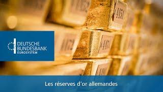 Les réserves d'or allemandes