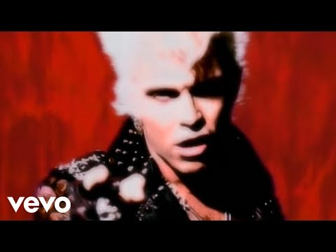 Billy Idol - Cradle Of Love (Official Music Video)