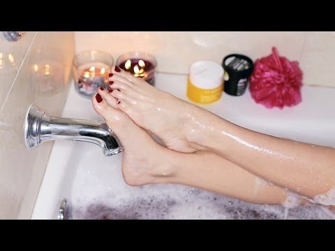 PAMPER ROUTINE   Spa Night at Home 2014