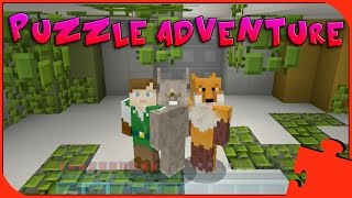 Minecraft Xbox - Puzzle Adventure - Triplicity The Overgrown Facility [1]