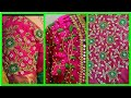 Bridal Blouse Designs / Maggam Work Blouse Designs...