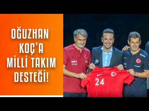 Oğuzhan Koç'a Milli Destek! - Şenol Güneş,Emre Belözoğlu,Cenk Tosun