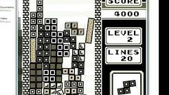 Not Tetris 2 - High Score 58769 (RECORD)