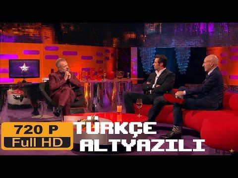 Graham Norton Show Hugh Jackman Patrick Stewart-Bölüm 1 Türkçe Altyazılı