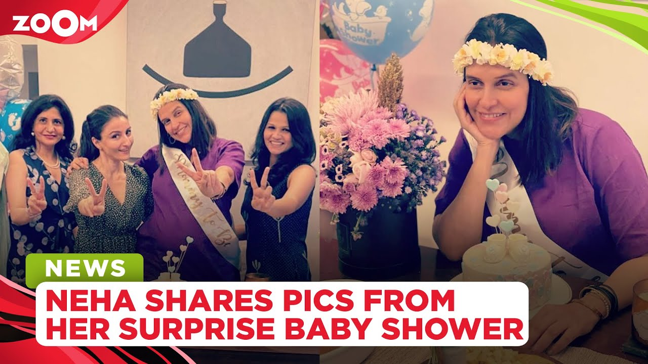 Neha Dhupia shares pictures from her 'surprise' baby shower