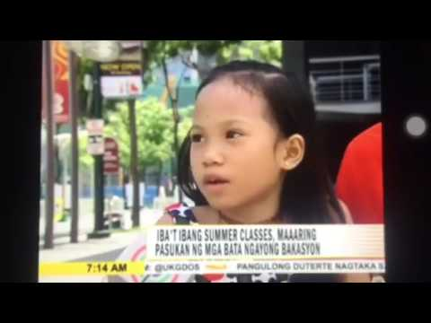 Kiddie Art Kart on Umagang Kay Ganda (March 6, 2017)