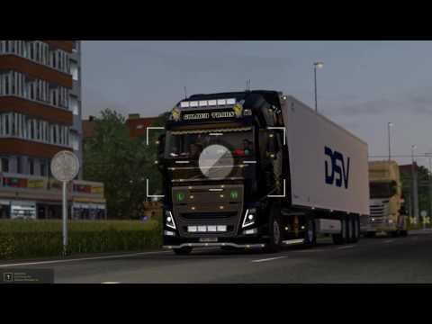 ETS2 Golden Trans Volvo FH16 540 Basel - Amsterdam