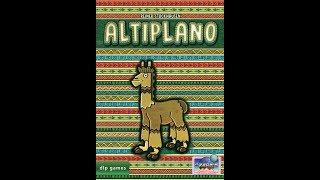 Altiplano - Vídeo reseña - El club del dado