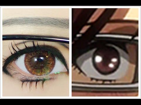 Tutorial Anime Eye Makeup 64 Hanji Zoe Youtube