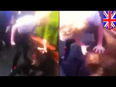 Школьницы выложили видео с избиением одноклассницы