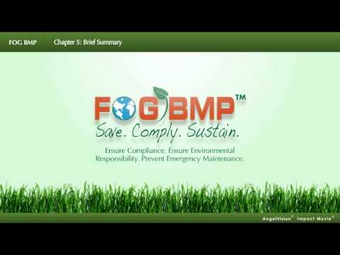 A summary of the benefits of implementing a FOG BMP program