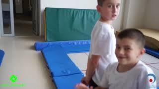 Детский спортивный лагерь - прыжки в воду / LIKO Sport kids Camp - Diving