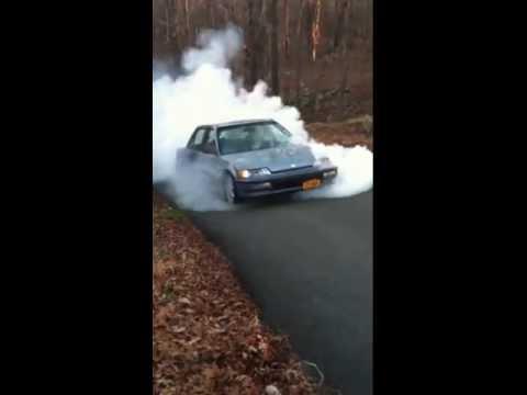 Honda Civic Ef Burnout