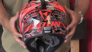 Zoan MX1 Plague snowmobile helmet