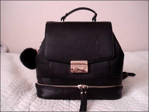 b20a75216d Zara Ladylike Backpack - YouTube