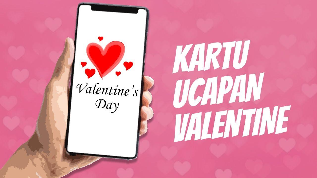 Hari Valentine Ini Cara Buat Kartu Ucapan Yang Keren Dan Bisa Pakai Kata Kata Romantis Youtube