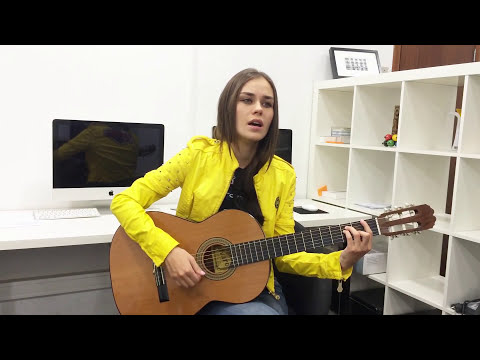 Anya May - Set fire to the rain by Adele (acoustic cover) #Adele #SETFIRETOTHERAIN #AnyaMay #guitar
