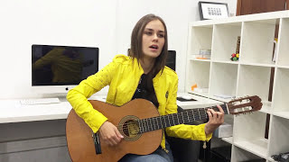 Video Anya May - Set fire to the rain by Adele (acoustic cover) download MP3, MP4, WEBM, AVI, FLV April 2018