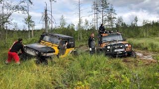 Новый маршрут, новые машины, хотели развернуться) Антон поставил Трактора!!!