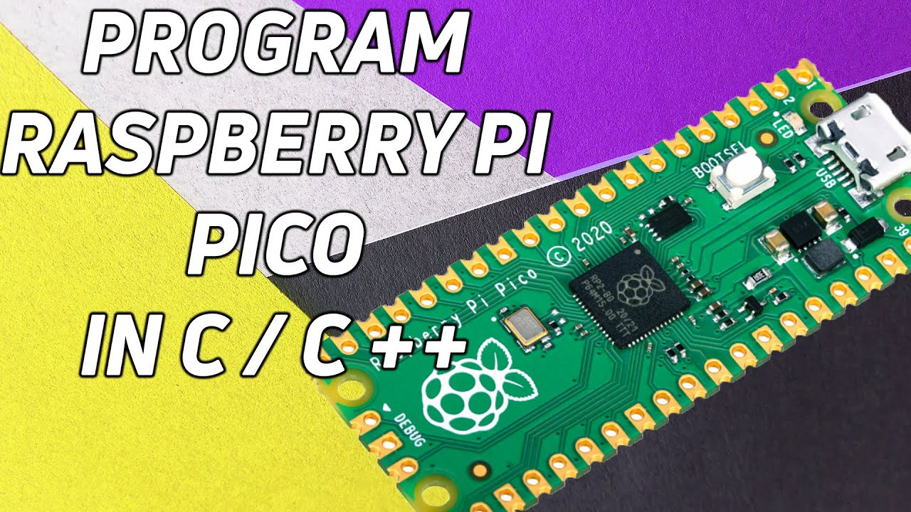 Programming a Raspberry Pi Pico with C or C++
