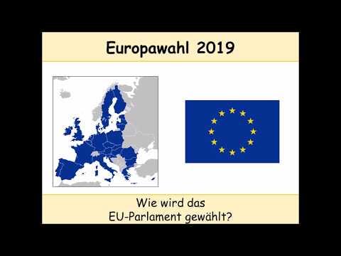 Europawahl 2019: Wie das EU-Parlament gewählt wird