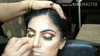 Real bridal HD Makeup Easy and simple. step by step in Hindi.
