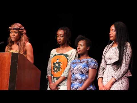 US-Africa Synergy AWLEAD Women - Class of 2014 Speech