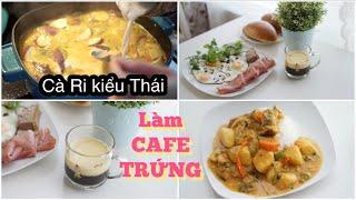 Lần Đầu Làm CAFE TRỨNG ♥ Cà Ri Kiểu Thái Chống Ngán   mattalehang