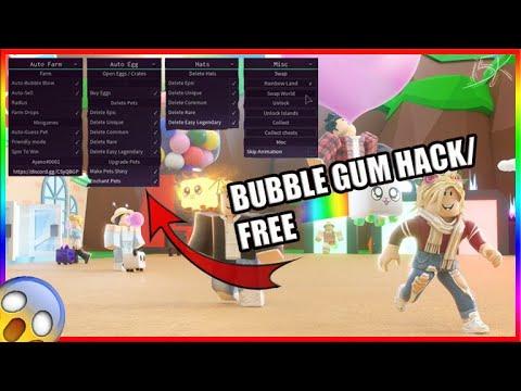 Work Bubble Gum Simulator Hack Script Autofarm And More Youtube