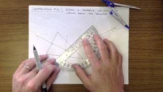 Construction #10 - Circumscribe a Circle Around a Triangle