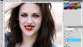 kristen stewart bella swan from twilight vampire transformation request