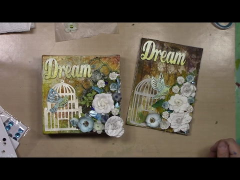 Dream - 6x6 Mixed Media Canvas