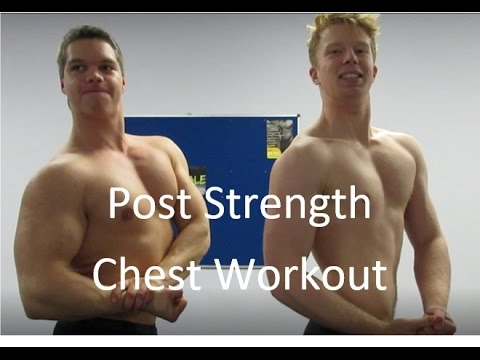 Chest Workout | What am I doing post strength training